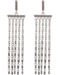 Vince Camuto - Statement Fringe Earrings - Lyst