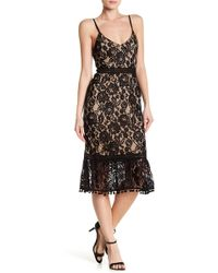 ABS Collection - Lace Slip Dress - Lyst