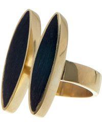 Soko - Double Jincho Ring - Size 7 - Lyst