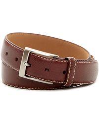 Trafalgar - Leather Stitch Belt - Lyst