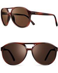 Revo - Marx 59mm Aviator Sunglasses - Lyst