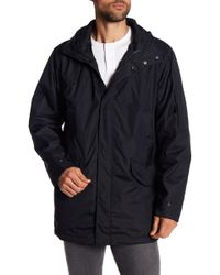 Izod - Packable Hooded 3-in-1 Stadium Systems Jacket - Lyst