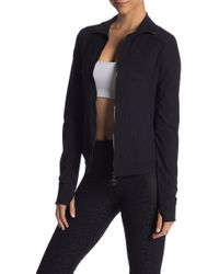 Trina Turk - Sunshine Jacquard Zip Jacket - Lyst