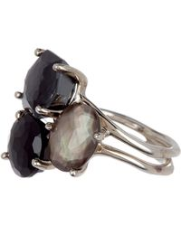 Ippolita - Rock Candy Sterling Silver 3-stone Cluster - Size 7 - Lyst