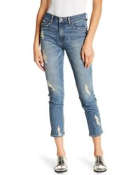 Genetic Denim - Birkin Distressed Skinny Jeans - Lyst
