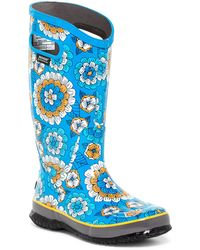 Bogs - Waterproof Pansies Rain Boot - Lyst