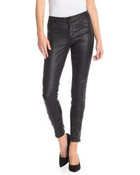 Tractr - Stud Embellished Coated Skinny Jeans - Lyst