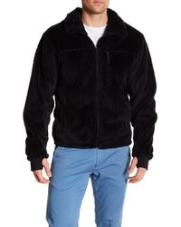 Hawke & Co. - Front Zip Fleece Bomber Jacket - Lyst
