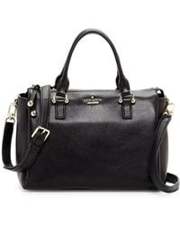 Kate Spade - Bradie Leather Satchel Bag - Lyst