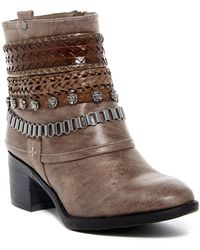 Carlos By Carlos Santana - Cole Belted Boot - Lyst