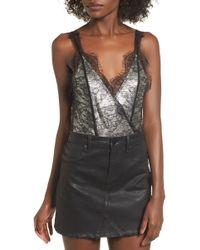 4si3nna - Shine Lace Bodysuit - Lyst