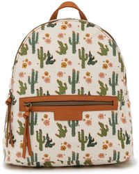 T-Shirt & Jeans - Desert Artisan Canvas Backpack - Lyst