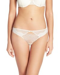 Passionata - 'blossom' Lace Keyhole Thong - Lyst