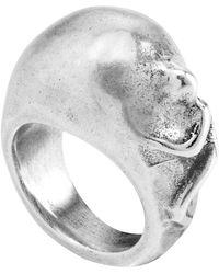 Uno De 50 - Miley Sculpted Ring - Lyst