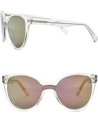 Kenneth Cole Reaction - Women Acetate Square Sunglasses - Lyst