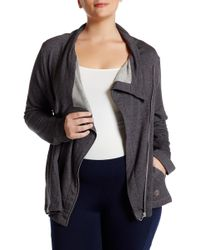 Balance Collection - Kate Asymmetrical Jacket (plus Size) - Lyst