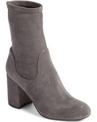 Halogen - (r) Jacy Stretch Sock Bootie (women) - Lyst