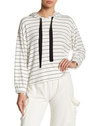 Michelle By Comune - Striped Hoodie - Lyst