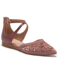 Isola - Carina Ankle Strap Wedge Sandal - Lyst