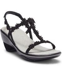 Jambu - Cybill Leather Wedge Sandal - Lyst