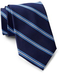 Tommy Hilfiger - Silk Repp Triple Bar Xl Tie - Lyst