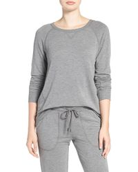 Pj Salvage | Terry Long Sleeve Pullover | Lyst
