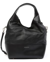 BCBGMAXAZRIA - Myla Leather Hobo Bag - Lyst