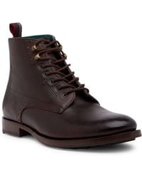 Ted Baker   Dhavin Leather Ankle Boot   Lyst