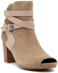 Earth - Santo Open Toe Bootie - Lyst