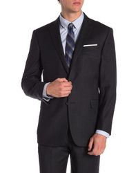 Brooks Brothers - Charcoal Solid Two Button Notch Lapel Explorer Regent Fit Suit Separates Jacket - Lyst