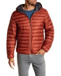 Tumi - Nano Packable Hooded Coat - Lyst
