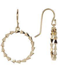 Melinda Maria - Small Spiky Circle Drop Earrings - Lyst