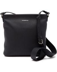 Ermenegildo Zegna - Leather Crossbody Bag - Lyst