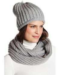 Modena - Speckled Scarf Set - Lyst