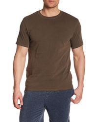 Threads For Thought - Short Sleeve Pigment Dyed Crew Neck Tee - Lyst