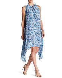 Amour Vert - Rita Silk Handkerchief Dress - Lyst