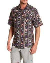 Tommy Bahama - Aloha Arrow Original Fit Short Sleeve Shirt - Lyst