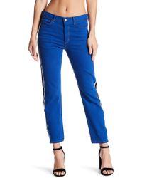 Siwy - Janie Striped Skinny Jeans - Lyst