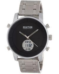 Kenneth Cole Reaction - Men's Digital Stainless Steel Watch - Lyst