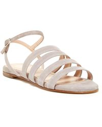 Charles David - Stripe Strappy Sandal - Lyst