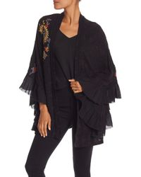 Free People - Dottie West Embroidered Top - Lyst