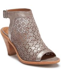 Trask - Paisley Suede Sandal - Lyst