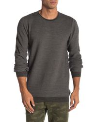 Lindbergh - Textured Long Sleeve Raglan Sweater - Lyst