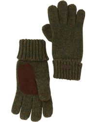Barbour - Whitfield Knit Gloves - Lyst