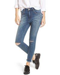 One Teaspoon | Freebird Ii Ankle Skinny Jeans | Lyst