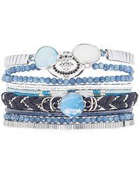 Hipanema - Idylle Beaded Bracelet - Lyst