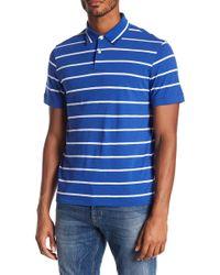 Jack Spade - Stripe Knit Polo - Lyst
