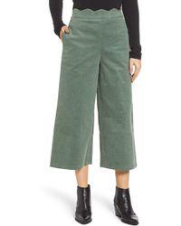 75d568d6b84 BP. - Corduroy Scallop Waist Wide Leg Pants (plus Size) - Lyst