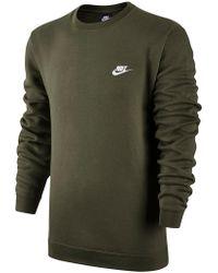 Nike - Sportswear Club Fleece Crew Neck Pullover - Lyst