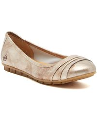 Born - Agnes Pleated Flat - Lyst